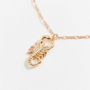 Urban Outfitters Scorpion Pendant Necklace